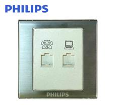 飞利浦Q8电话电脑插座