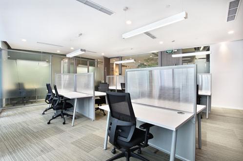 办公照明案例—金泰大厦办公室