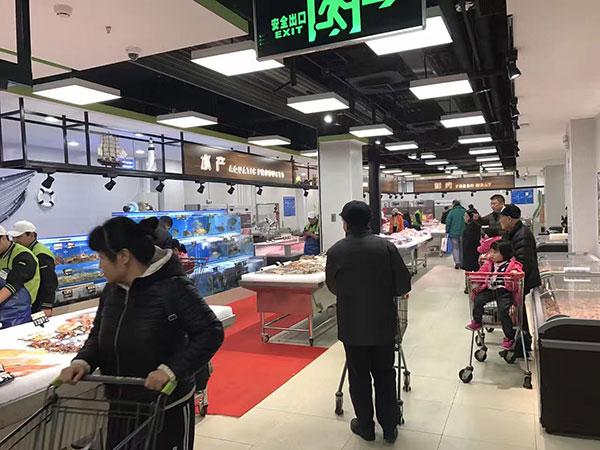 商业照明案例——大型超市