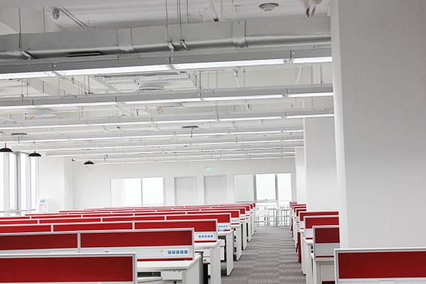 办公照明案例——北京美团总部
