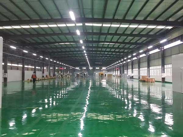 厂房车间照明案例—北京现代重庆五厂